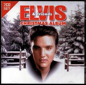 ELVIS-PRESLEY-FRIENDS-2-CD-CHRISTMAS-ALBUM-NAT-KING-COLE-BING-CROSBY-NEW