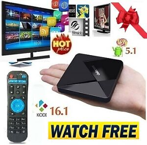 NEWEST 5.1 ANDROID TV Box★FULLY LOADED★NO monthly FEES★ITS FREE★