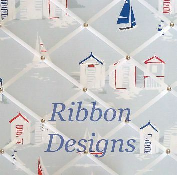 Ribbon Designs Fabric Notice Boards