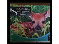 Jigsaw Roll with Fawn Puzzle