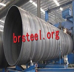 LSAW Carbon Steel Pipes Welded  Construction Mechanical Fluid