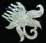 Silver Wedding Hair Accessories