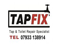 Taps & Toilets Fitted, Repaired, Replaced - All Plumbing Repairs Dealt with 07933138914