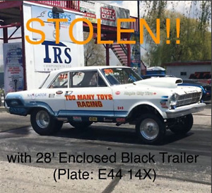28 ft trailer and race car London Ontario image 1