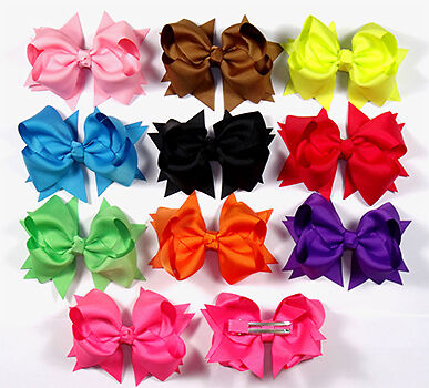 Cool The Complete Guide To Girls39 Hair Bows Ebay Easy Diy Christmas Decorations Tissureus