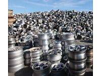 Wanted cheap alloy wheels,in need of refurb or no tyres no problem ,cash waiting