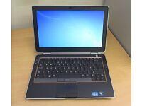 Dell Latitude E6330 laptop Intel 4x 2.7ghz Core i5 3rd generation processor 8gb ram