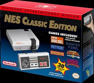 Brand New Nintendo NES Classic-SOLD OUT ***$300**