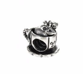 Genuine Pandora Mouse in a Teacup charm 791107 - Retired