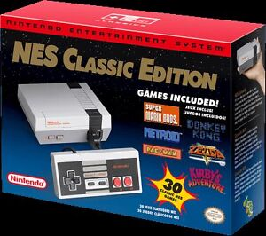 NES Classic Mini - almost NEW played once...