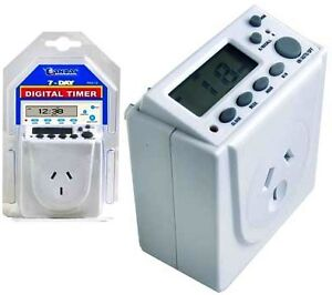 SANSAI 7 Days Digital Timer for Automation 240V 10A Electric Programmable PAD-32