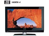 """Philips 42"""" inch HD Ready LCD TV with Freeview built in, 2 x HDMI not 37 40 43 39"""