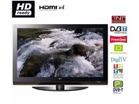 """LG 50"""" Digital Freeview HD HDMI TV with USB working perfect large screen"""
