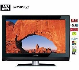 Philips 37 inch HD Ready LCD TV with Freeview Built-in, 2 x HDMI not Samsung LG 37 40 46