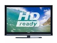Sharp LC32D12E 32 inch Widescreen HD Ready LCD TV with Freeview