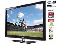 """(Excellent) Samsung LE40D503 40"""" Widescreen Full HD 1080p LCD TV + Freeview + HDMI + Remote"""