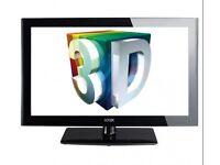 3d 47 inch LED Logik TV