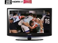 Samsung 32 inch HD LCD TV, Freeview built in, 3 x HDMI not 37, 39, 40, 42 May Deliver Locally