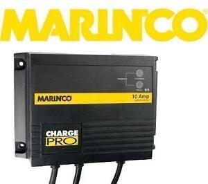 NEW MARINCO 28210 BATTERY CHARGER 10 AMP 2 BANK 12/24V OUTPUT 120V INPUT MARINE BOATING 99288739