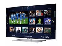 """50"""" SMART 3D TV WITH REMOTE"""