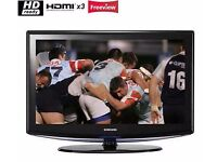 Samsung 40 inch HD Flat LCD TV with freeview built in, 3 x HDMI not 39, 42, 43