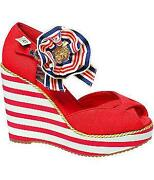Red 50s Shoes