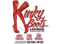 X2 Tickets For Kinky Boots West End