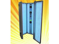 VX240 Sunbed - Home Vertical Tanning Unit, PREMIUM, Huge Savings on new price. CALL NOW