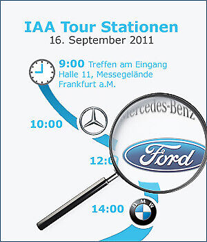 IAA Tour 2011: Ford-Standbesuch