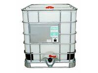 IBC cube /water storage tank