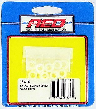 AED Holley Carburetor Reusable Nylon Fuel Bowl Washers