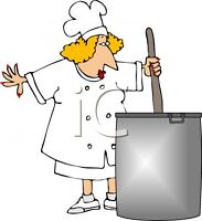 part-time cook/housekeeper