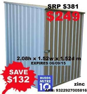 ABSCO SPACESAVER SHED plus more (expiry 06/09/15) hurry hurry Murwillumbah Tweed Heads Area Preview