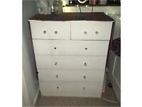 White set of drawers furniture free