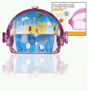 Brand New In Box! Habitrail OVO Hamster Maze - Pink