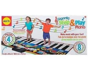 Clavier de piano géant Step and Play (3+ ans) - NEUF