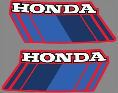 1985 85 Honda Atc 70 Gas Tank 2 Pcs Sticker Graphics Atv Decals Logos Free Ship