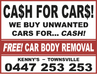 **WANTED** CHEAP CAR - NEEDING REPAIRS OK!!! Kirwan Townsville Surrounds Preview