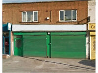 Shop to let*GreenLane* Excellent Size*Large Shop* Double Fronted
