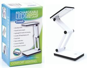 Triumph-Rechargeable-Folding-Desk-Lamp-Table-Light-Craft-Hobby-Compact-LED-USB