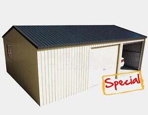 Colorbond Triple Garage Roller Doors 6m x 9m  Sheds