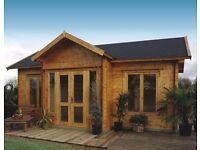 LilleVilla 228 Log Cabin