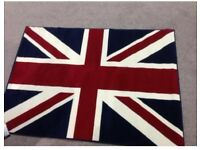 Brand New Union Jack Rug / Mat short pile