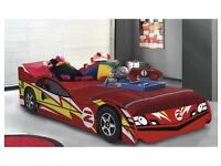 Red gtr racing car bed 3ft single bed