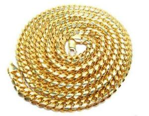 14K Gold-filled Miami Cuban Link Necklace – 12.7mm, 30'