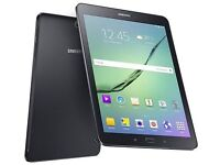 SAMSUNG TAB A 2016 SM T555, 16GB BLACK,FACTORY UNLOCKED,IMMACULATE CONDITION,WITH CHARGER AND USB