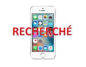 RECHERCHE - iPhone 5S ou 6 ou 6s **64Gb** déverouillé
