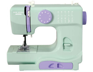NEW JANOME PORTABLE SEWING MACHINE - GREEN OR PURPLE