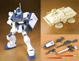 P-Bandai GM Sniper II White Dingo Gundam HG 1/144
