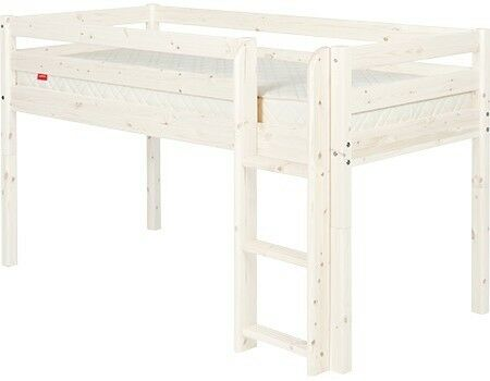 573286be181a Thuka HIT pine mid-sleeper cabin bed frame, white lacquer | in ...